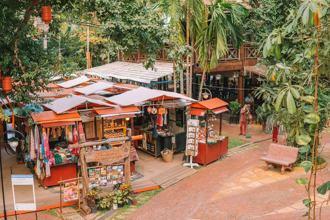 Things to do in Siem Reap blog post King's Road Angkor