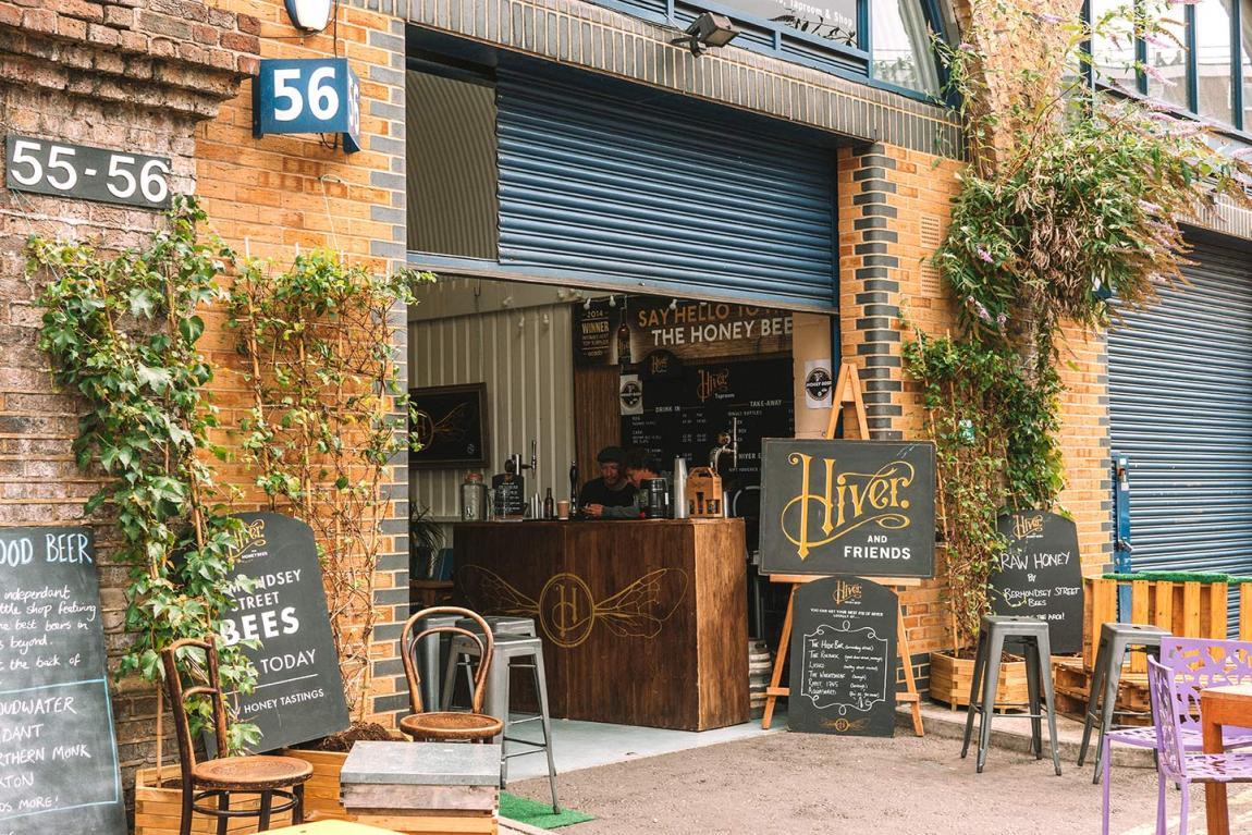 Bermondsey beer mile | Hiver Beers and Taproom