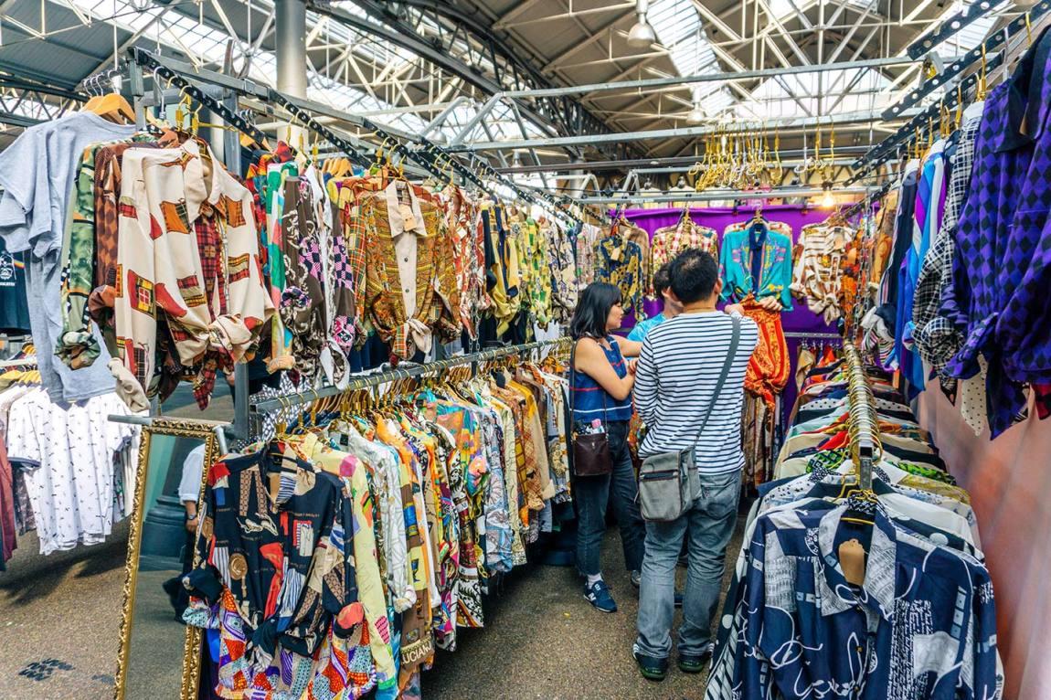 Old Spitalfields market in East London - travel guide