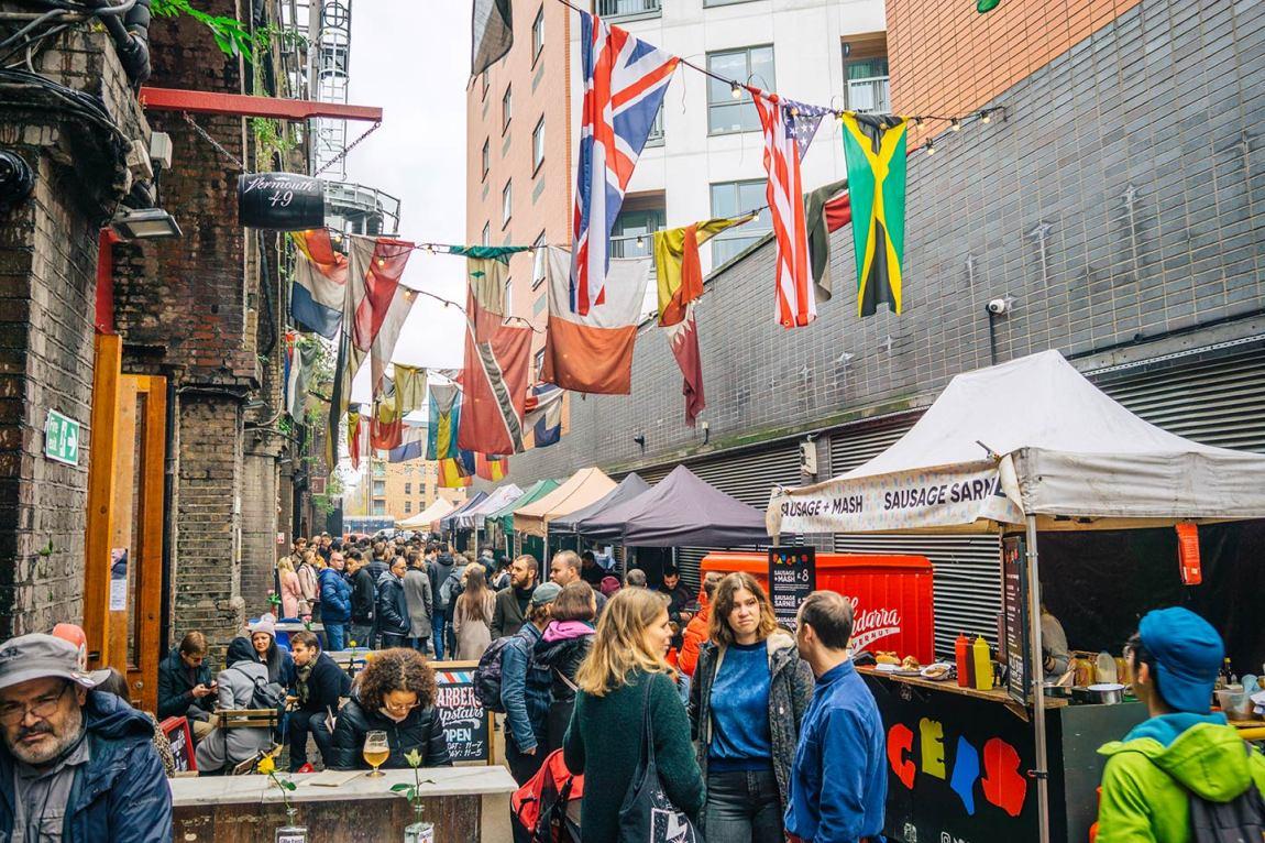 Maltby Street Market, Bermondsey London