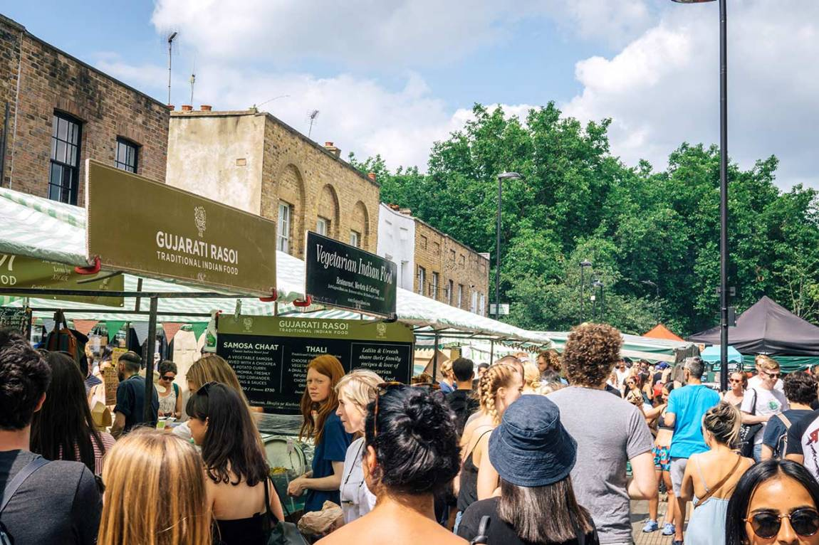 Broadway Market, Hackney, East London - Best Saturday markets in London