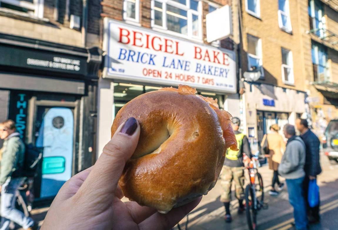 Brick Lane bagel