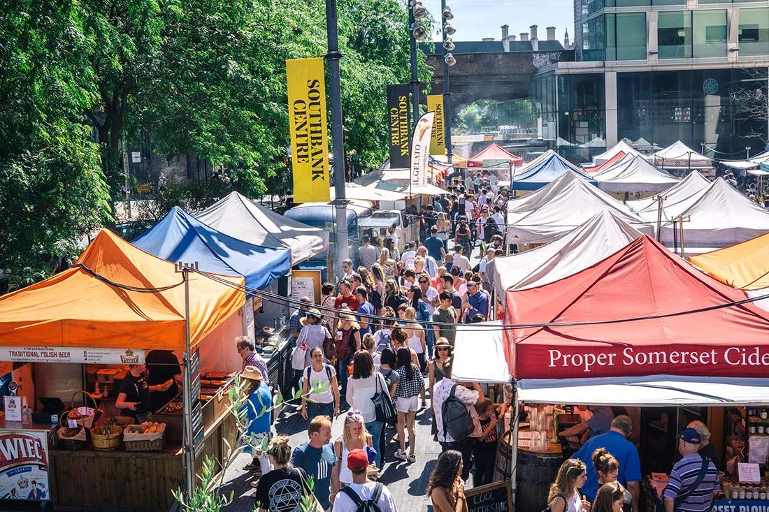 Southbank Centre Food Market - Best Saturday markets in London