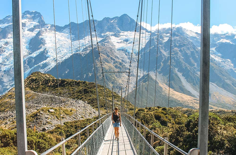 Mount Cook National Park 20 best places to visit in New Zealand's south island