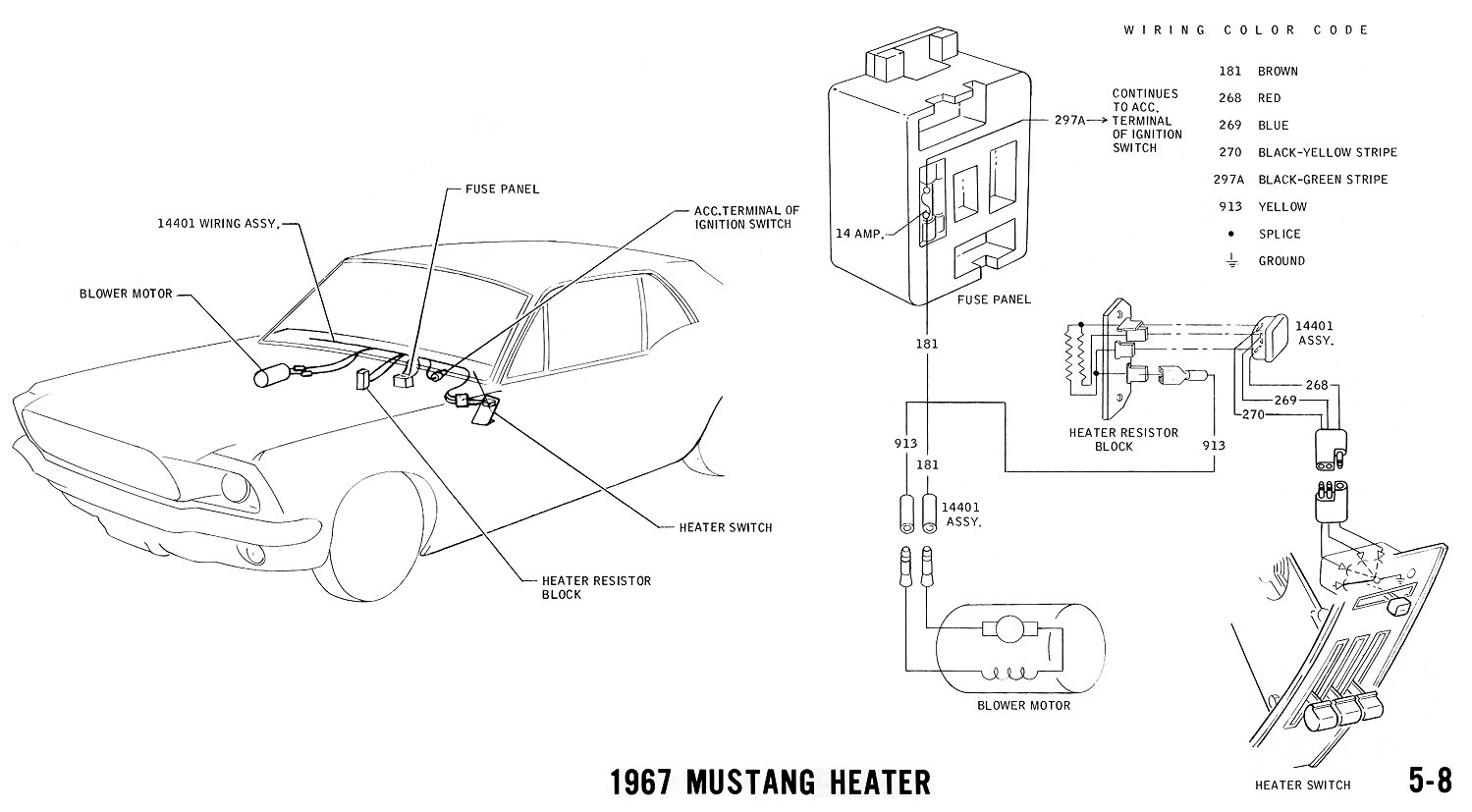 Mustang Headlight Switch Wiring