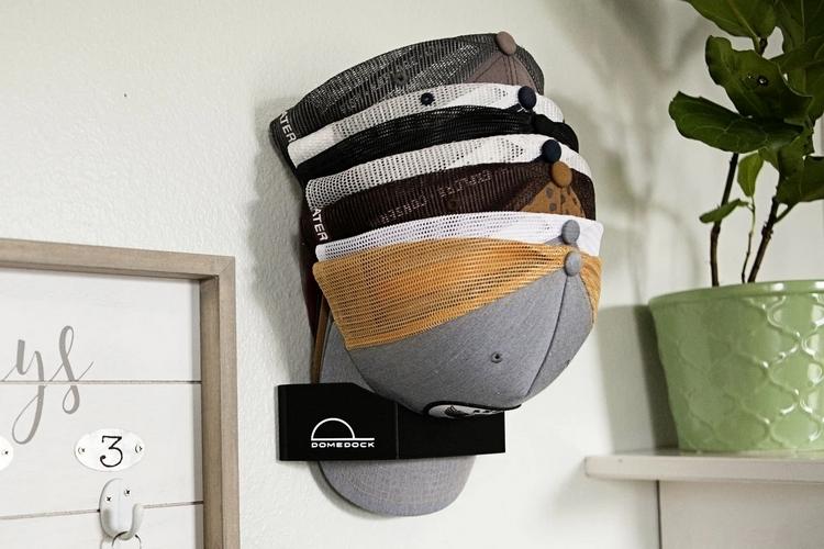 domedock ball cap rack clad