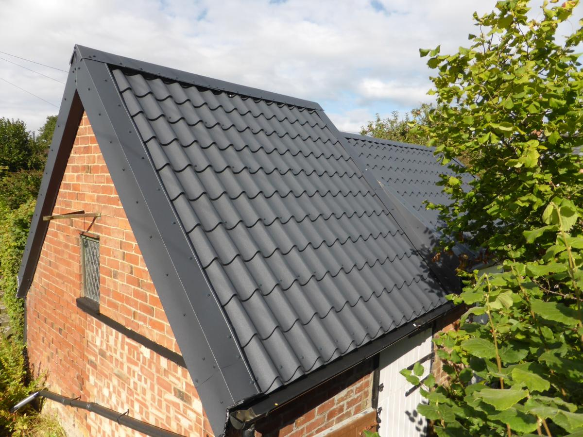 new roofing sheets look like tiles