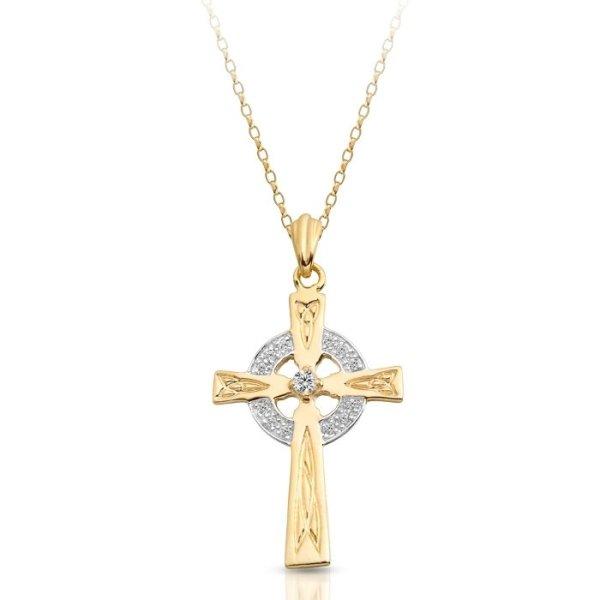 Gold Celtic Cross - C111CL