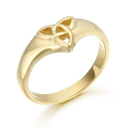 9ct Gold Ladies Celtic Ring in Trinity Knot - 3237CL