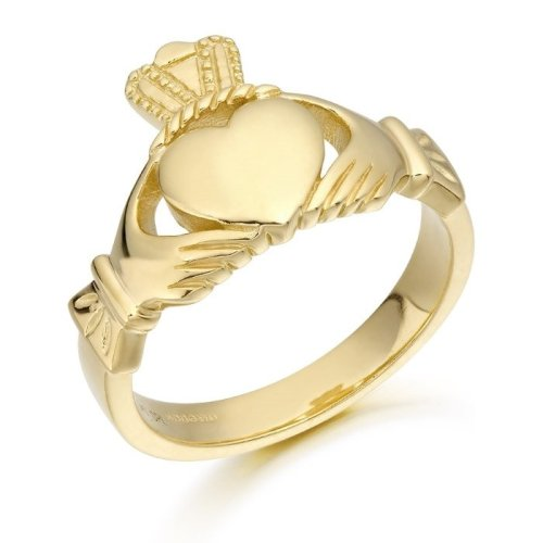 9ct Gold Claddagh Ring - 139A