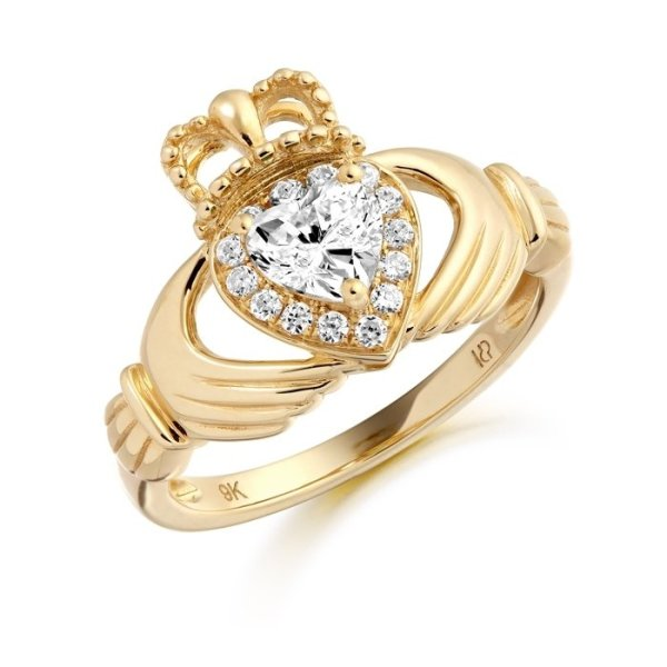 Claddagh Ring-CL28CL