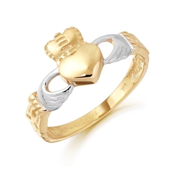 Ladies Claddagh Ring-CL12CL