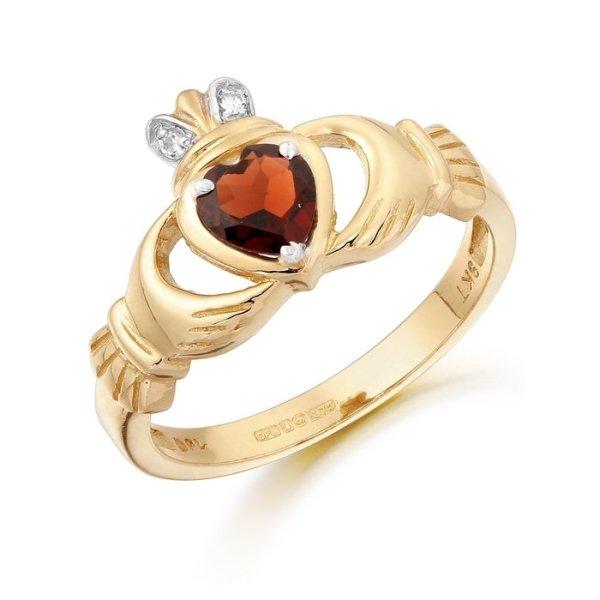 Claddagh Ring-CL25GARCL
