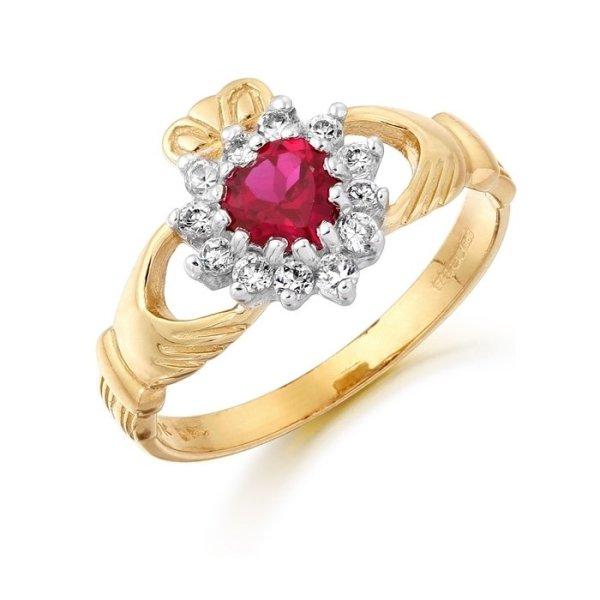 Claddagh Ring-D36RCL