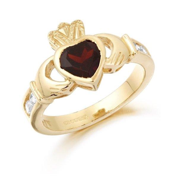 Claddagh Ring-CL102GARCL