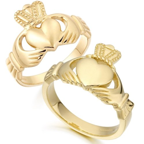 Mens Claddagh Rings