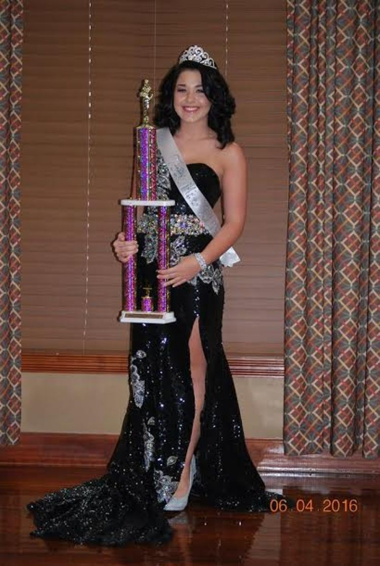Katelin Dison Teen Miss WLTF