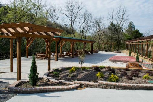 Patio at Well Being Foundation