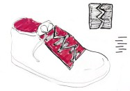 dessin de chaussure enfant