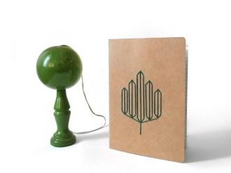 personnaliser-cahier-broder-carnet-broderie-diy-papier-geometrique-customiser-fil claire barrera bilboquet
