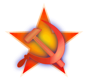 Hammer and Sickle on a Red Star