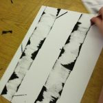 Aspen Tree | Birch Tree art project