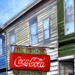 The Porthole Fountain in Portland Maine | Claire Dunaway Studios