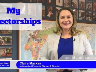 How Claire's directorships benefit her clients