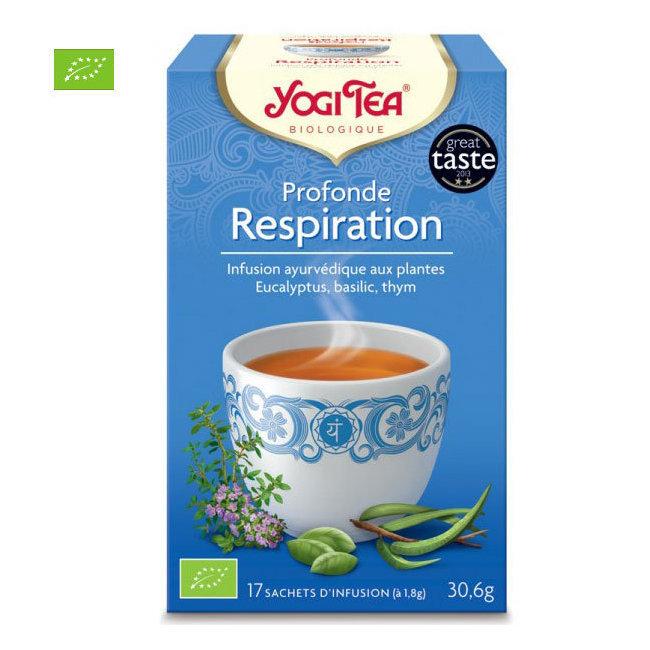 Yogi Tea Profonde Respiration bio 17 sachets