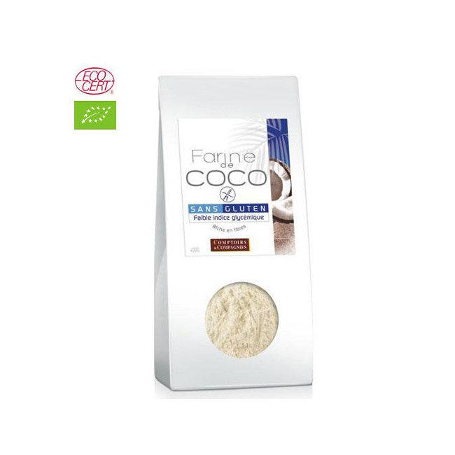 Farine de coco bio 400g - Sans gluten