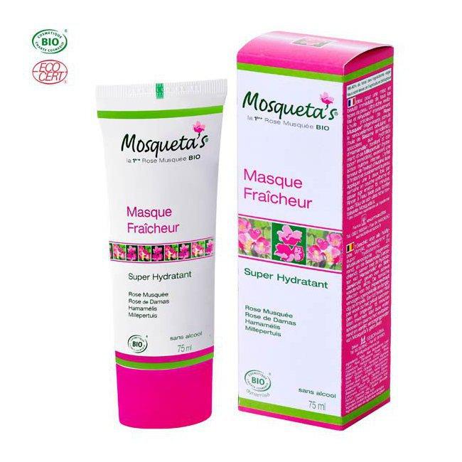 Masque super hydratant bio à la rose musquée 75ml