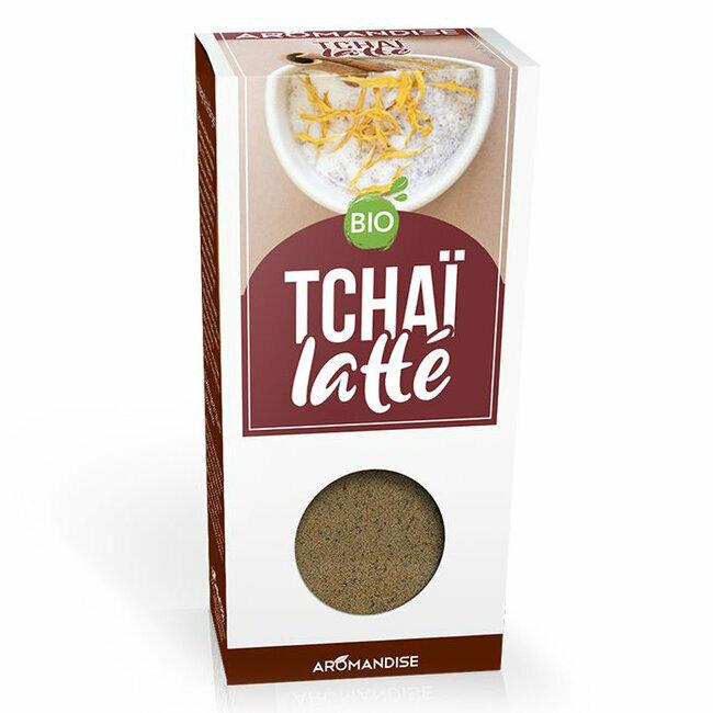 Fleurs d'épices bio Tchai Latte pour la cuisine 70g