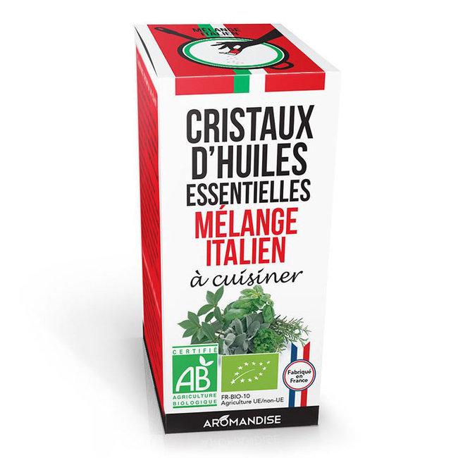 Cristaux d'huiles essentielles Mélange italien bio 20g