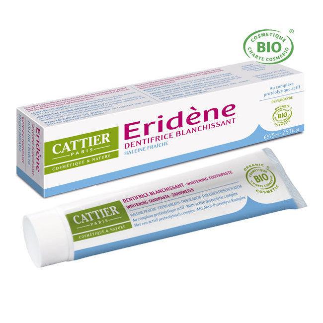 Dentifrice blanchissant Eridène Haleine fraîche bio 75ml