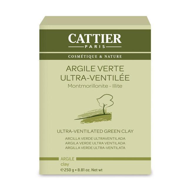 Argile verte ultra ventilée - Montmorillonite Illite en poudre 250g