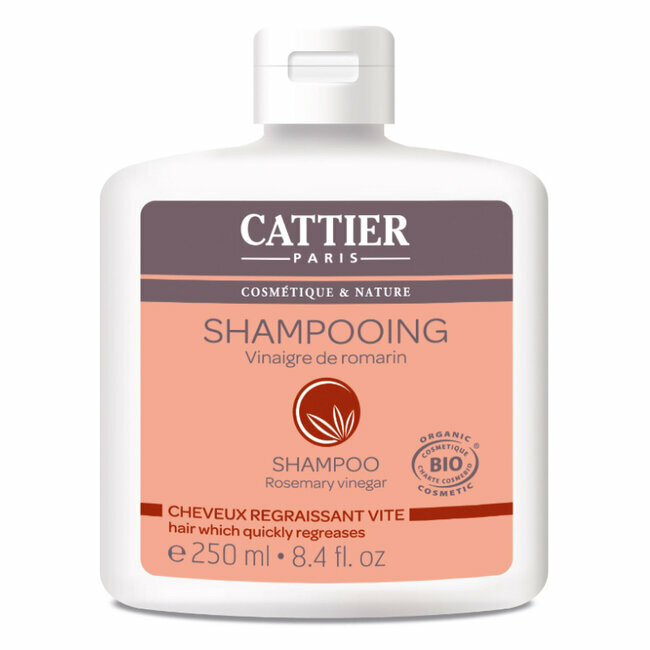 Shampoing Cheveux regraissant vite Vinaigre de romarin 250ml