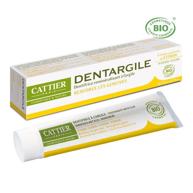 Dentargile Citron - Dentifrice bio pour renforcer les gencives 75ml