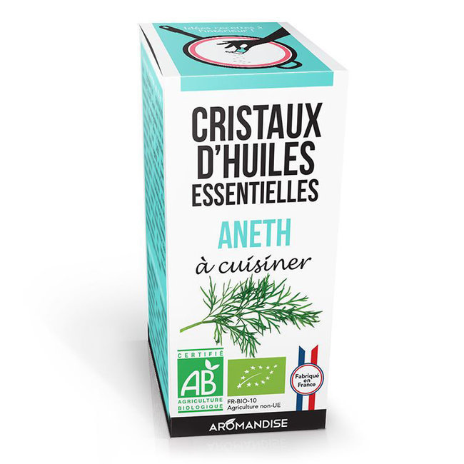 Cristaux d'huiles essentielles Aneth bio 20g