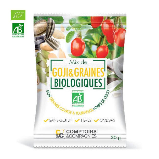 Mix Superfruits Goji et graines bio 30g
