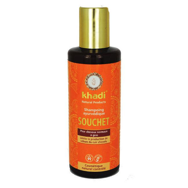 Shampoing ayurvédique Souchet - Cheveux gras 210ml