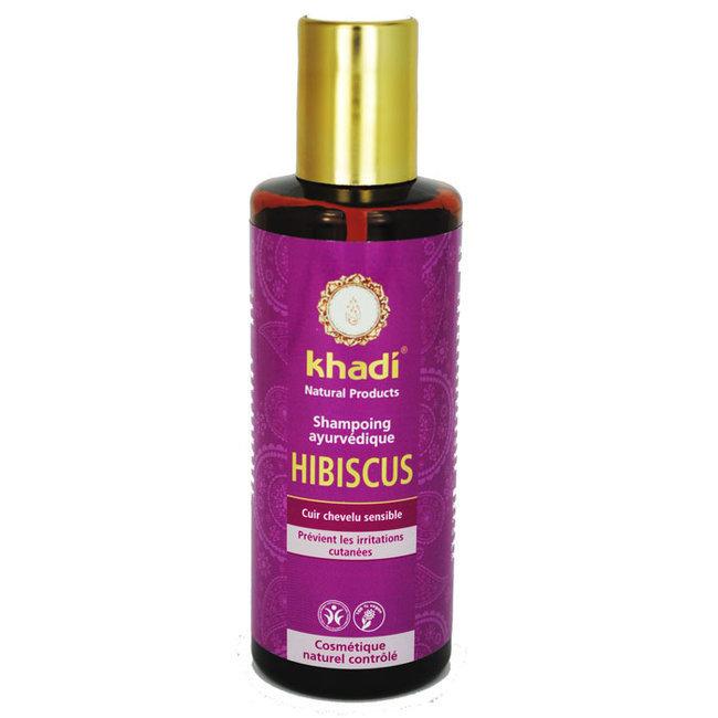 Shampoing ayurvédique Hibiscus - Cheveux sensibles 210ml