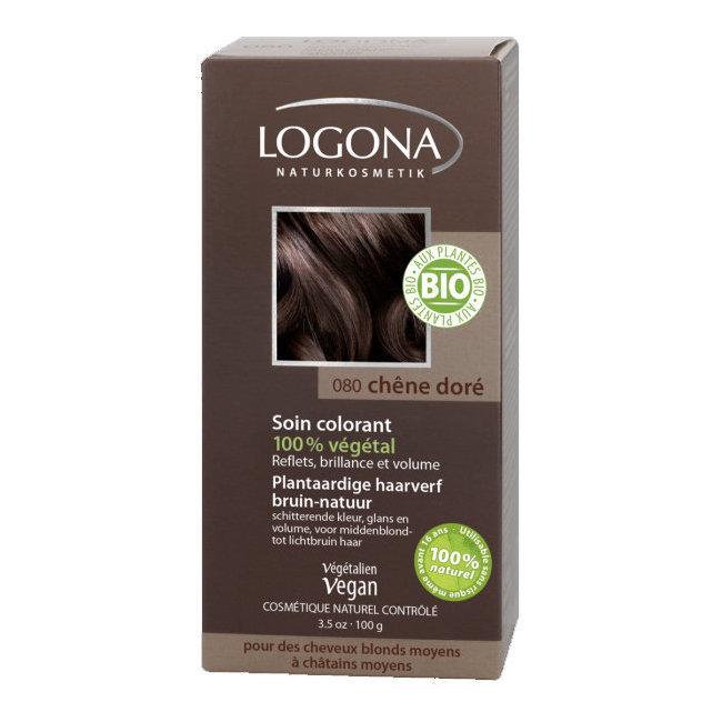 Chêne doré - Soin colorant végétal pour cheveux blonds et châtains 100g