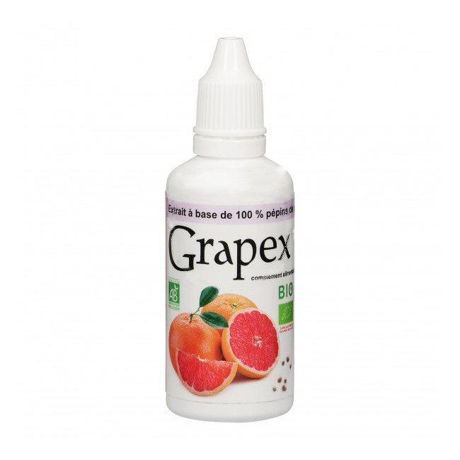 Grapex 78% Extrait de pépins de pamplemousse bio 50ml