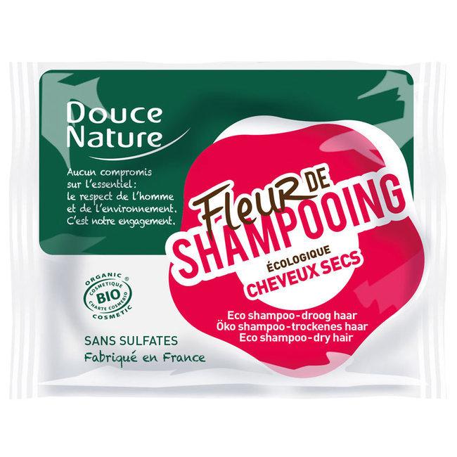 Fleur de shampoing Cheveux secs - Shampoing solide bio 85g