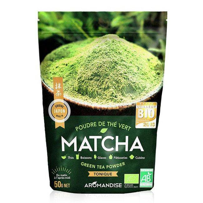 Thé Vert Matcha bio en poudre 50g
