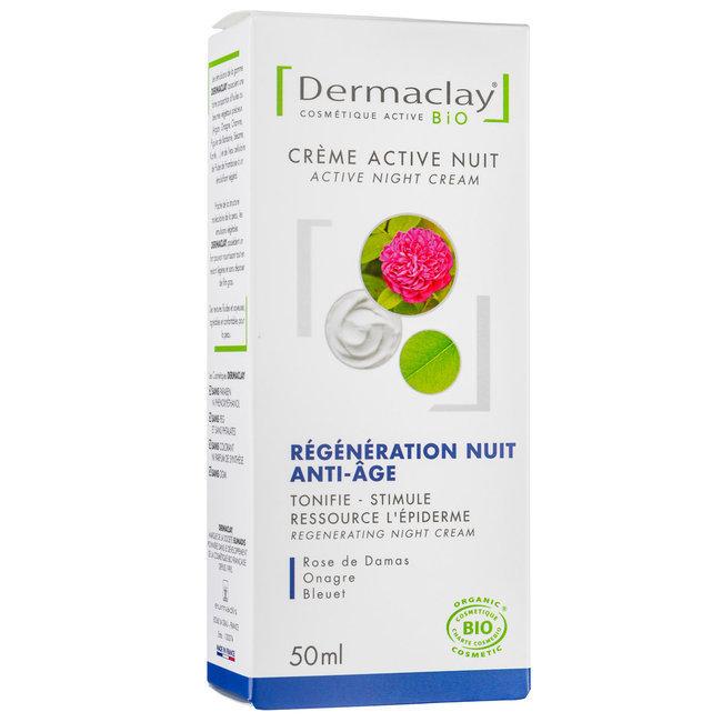 Crème nuit bio Relaxante Régénérante 50ml
