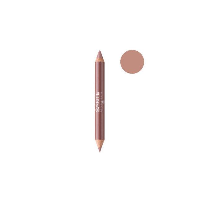 Crayon Duo Contour des lèvres Nude Look n°01