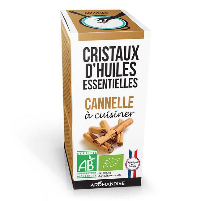 Cristaux d'huiles essentielles Cannelle bio 20g