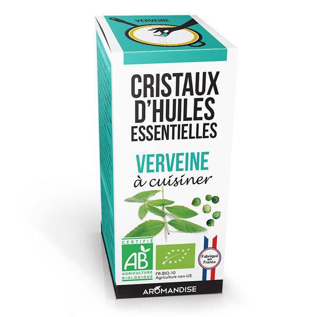 Cristaux d'huiles essentielles Verveine bio 20g