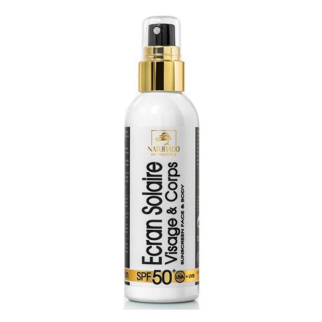 Crème solaire bio Indice 50+ Très haute Protection Visage 100ml